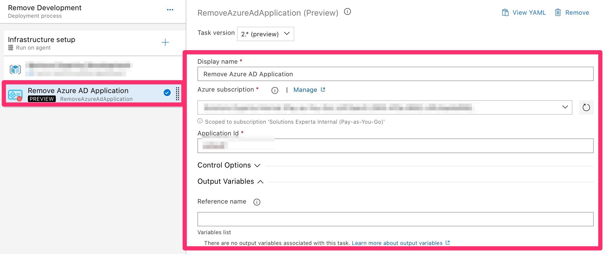 Remove-AzureApplicationAD